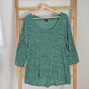 Urban Outfitters Sparkle & Fade 3/4 Sleeve Sweater